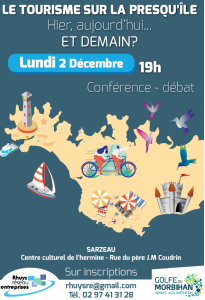 CONFERENCE TOURISME - INSCRIPTIONS